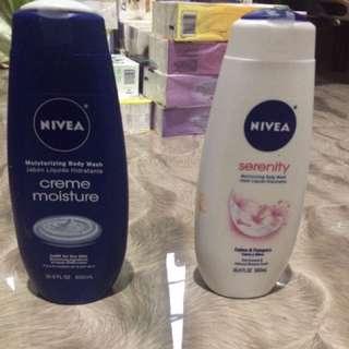 Nivea body wash