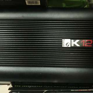 STEG K12 competition 2 channel amplifier