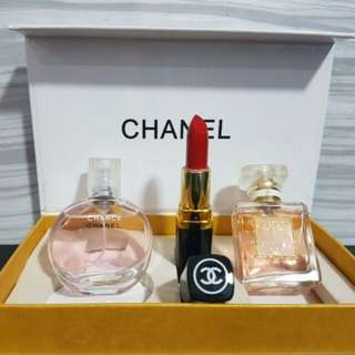 3 in 1 chanel perfume
