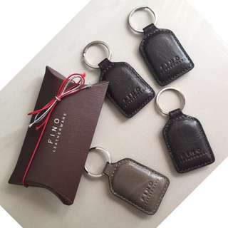 Fino leather keychain TAKE ALL - original and brand new