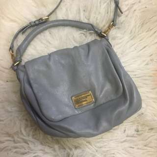 Marc by Marc Jacobs grey leather purse