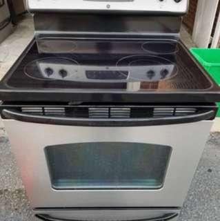Estufa eléctrica de acero inoxidable