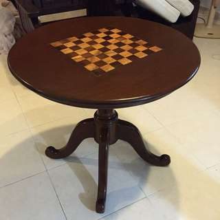 Coffee Table with Chess board design