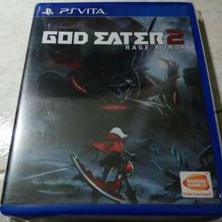 PS Vita - God Eater 2: Rage Burst