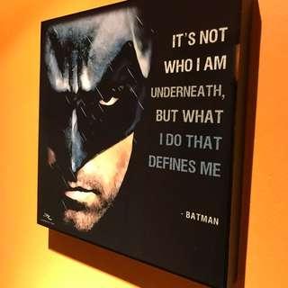 Batman : Pop Art Poster Frame