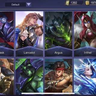 Mobile legends account IOS
