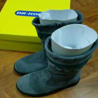 Dr Kong size 35 leather boots