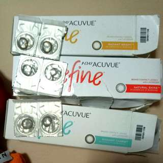 1day Acuvue Define Colored Contact Lens