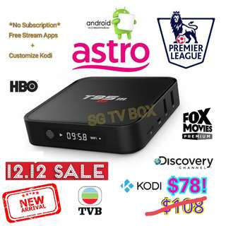 Latest Android marshmallow S905X Chip , Sunvell T95m TV Box  ( IPTV / ASTRO / Malaysia Channels / TV3 / Malay / TVB ) #1212YES