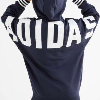 WTB Adidas Originals Fuzzy Hoodie