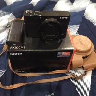 Sony Rx100 M3 with freebies