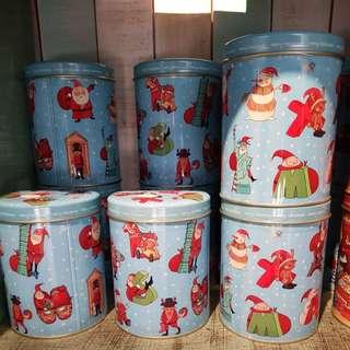 台灣米樂爆谷聖誕特別罐系列
