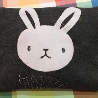 Bunny Sweater Dress plus Hoodie