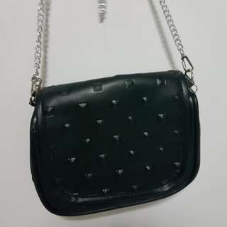 Brand new small black sling bag