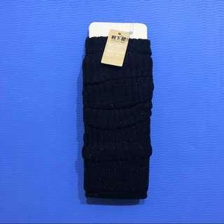 日本靴下屋黑色金蔥櫗套