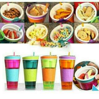 Snackeez 2in1 food and drink