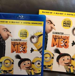 (2017) Despicable Me 3 Blu-ray