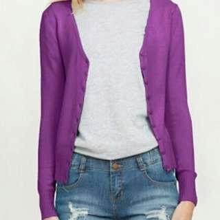 Cardi purple