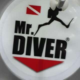 Diver Car Decal