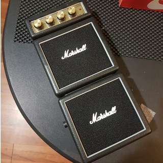 Micro Guitar Amplifier Marshall MS-4 1W