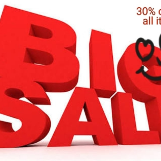 30% off on all purchase