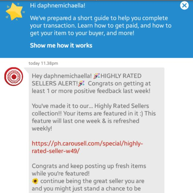 3rd Time. Thanks CAROUSELL