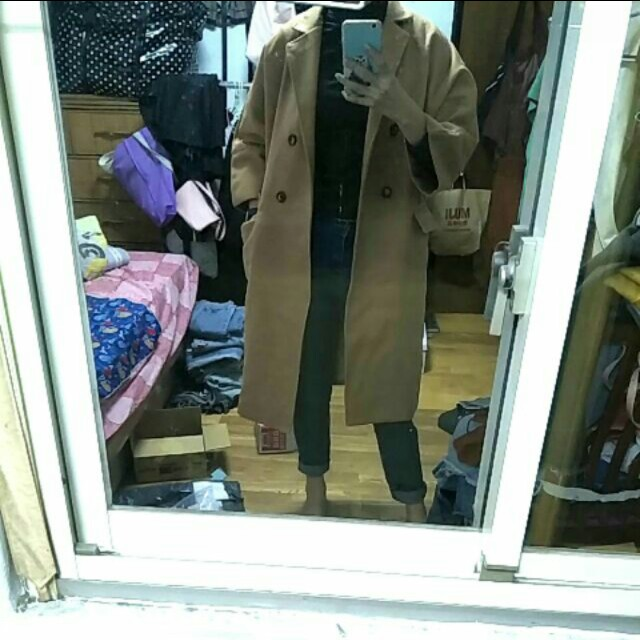 全新駝色大衣