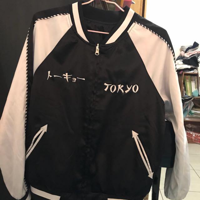 日本東京特殊刺繡外套