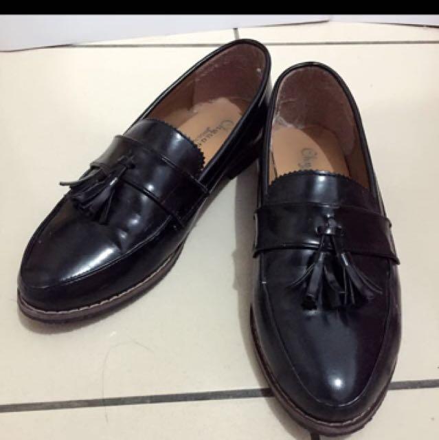 黑色英倫風牛津鞋