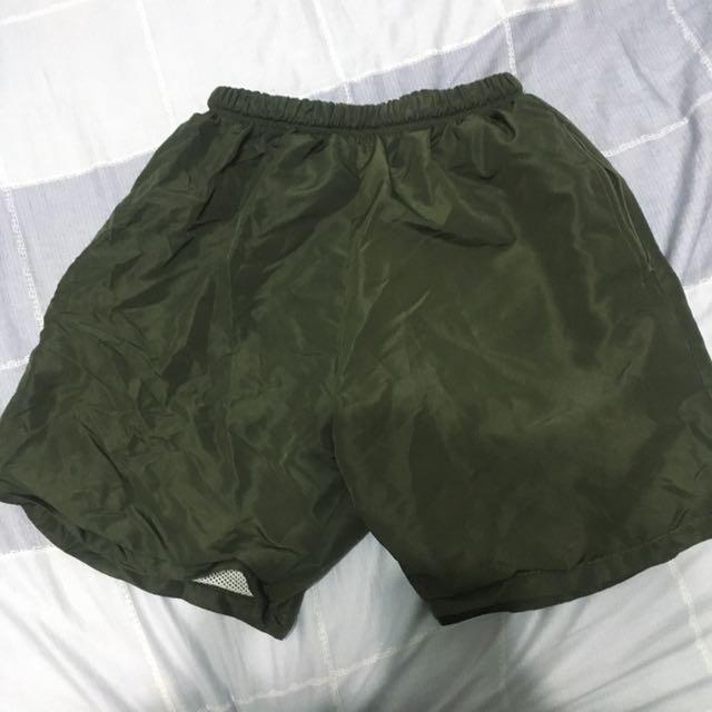 陸軍 軍人 運動短褲