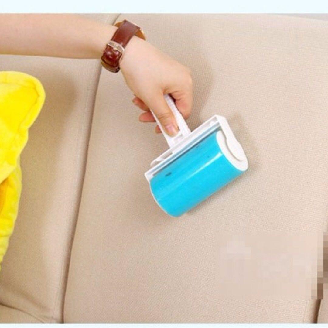 可水洗黏毛器 黏衣服毛除塵器 地毯床單西毛黏塵滾筒 顏色隨機