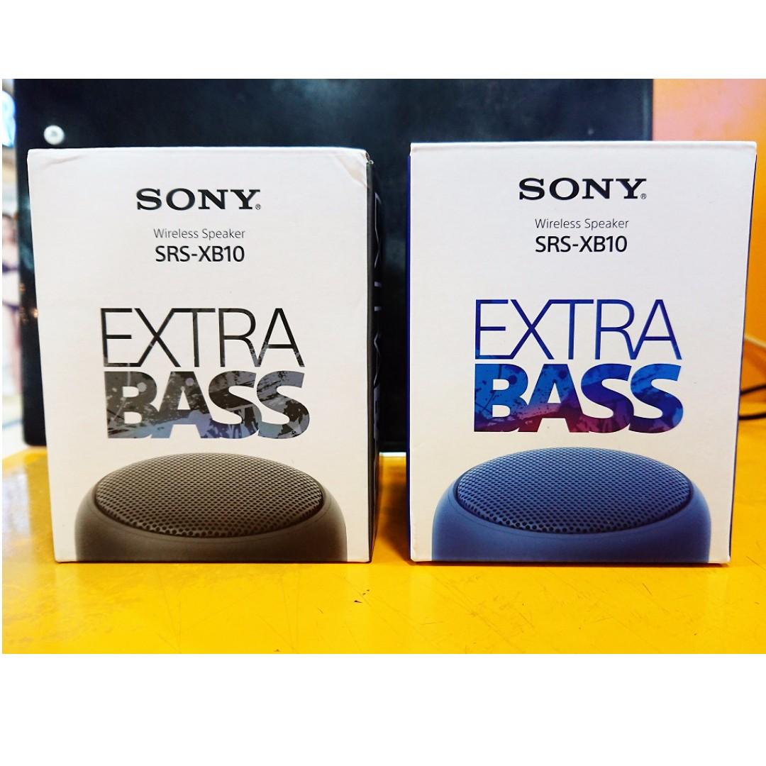 [售] 全新 SONY SRS-XB10 藍牙喇叭 防水 (公司貨) (黑)