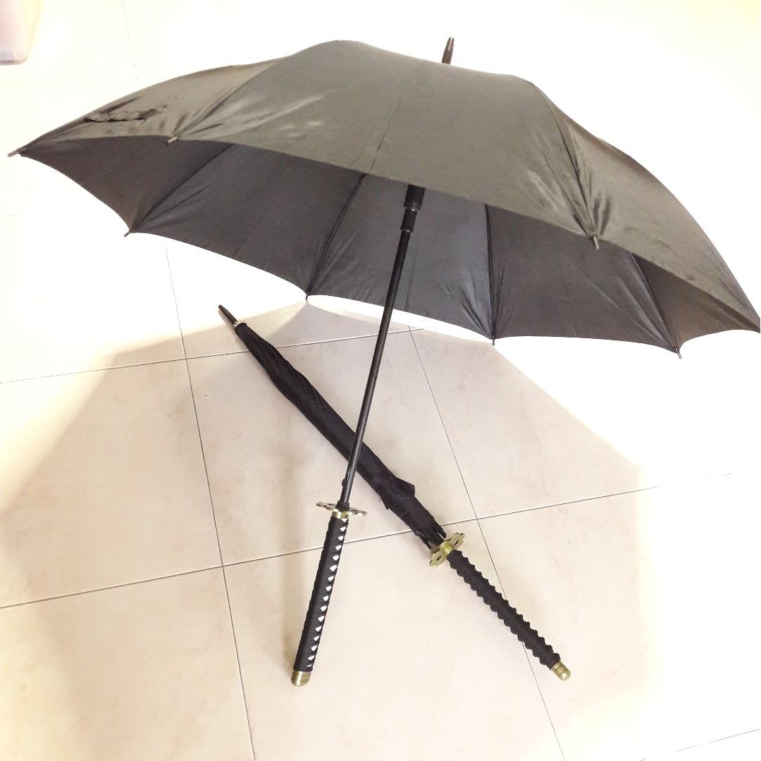 🉐 Japanese Sword / Katana Umbrella (Roronoa Zoro Shusui Style)