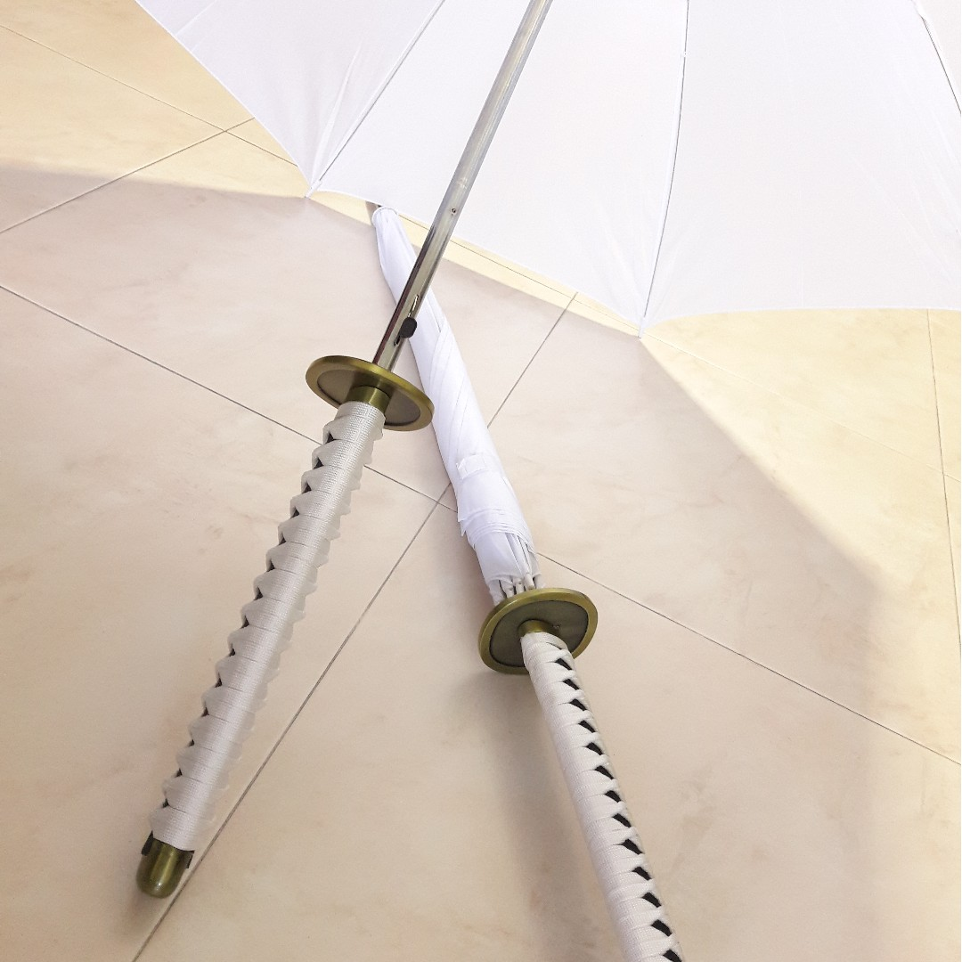 🉐 Japanese Sword / Katana Umbrella (Roronoa Zoro Wado Ichimonji Style)