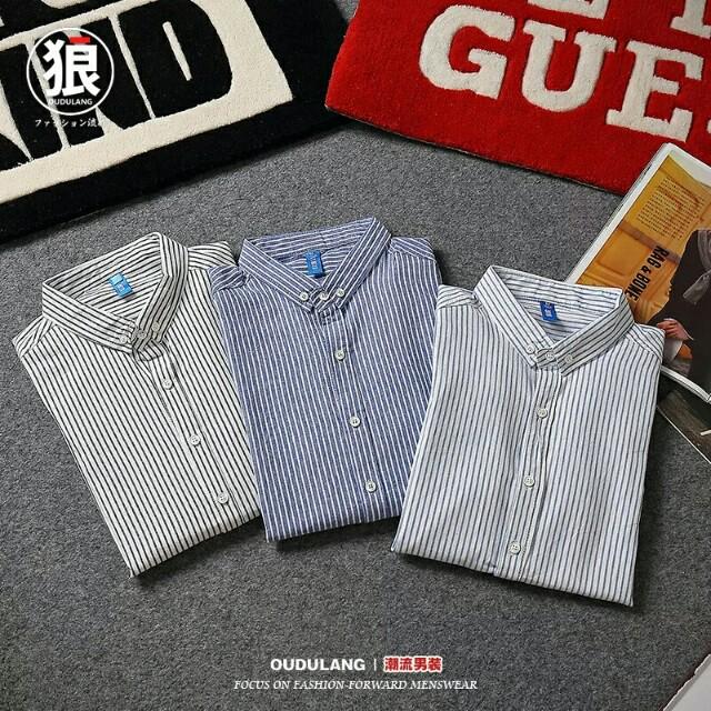 翻領條紋潮流襯衫 有需要哪款請PO款示給我 尺寸:M-2XL 賴lucky2200(小培) FB:南部雜貨舖