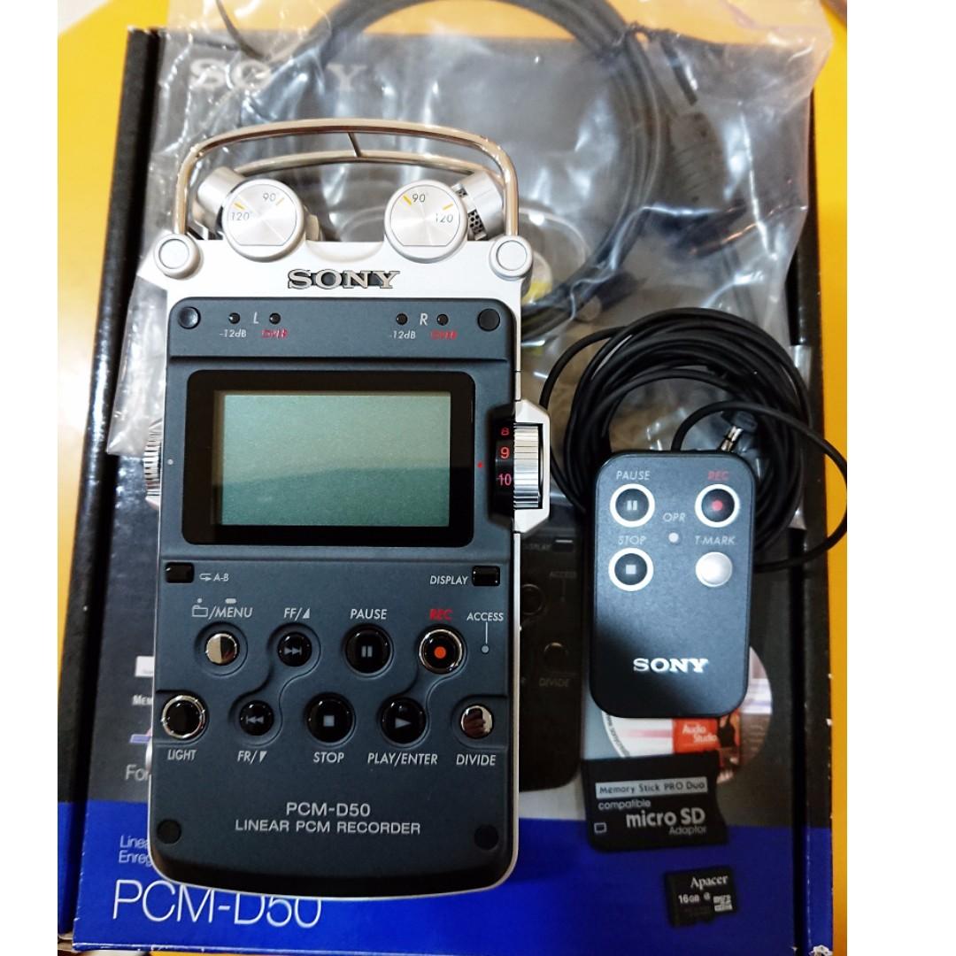 [售] SONY PCM-D50 專業級 數位錄音機/錄音筆