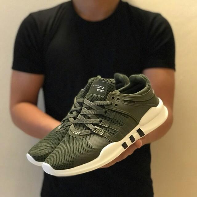 online retailer 16935 15527 Adidas Eqt Adv 91-16 Army Green