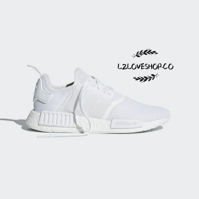 646ffa302 Adidas NMD R1 - White Grey  CQ2411