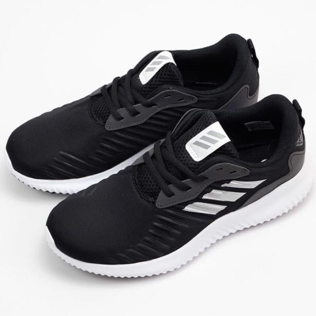 【adidas】ALPHABOUNCE RC J(無縫耐磨慢跑鞋/BW0575)