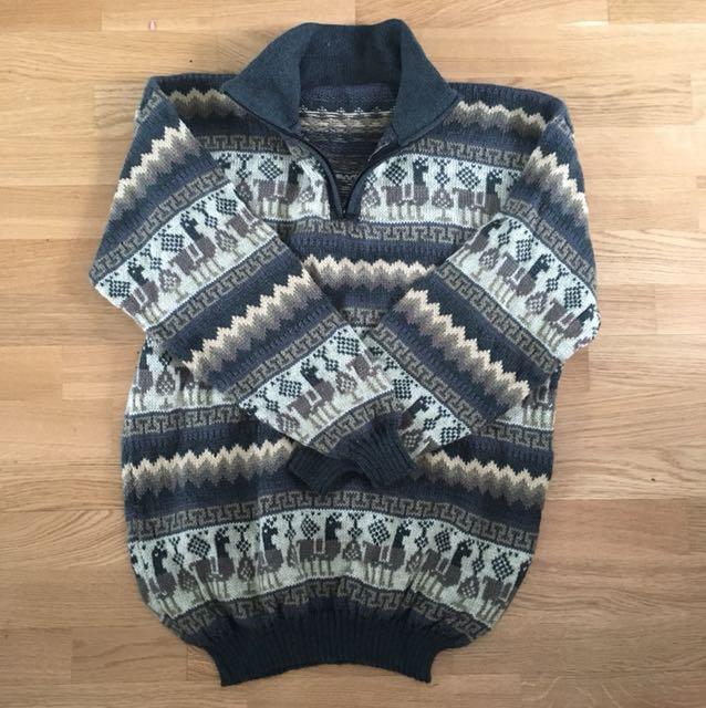 Alpaca Sweater from Ecuador