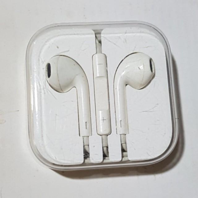 🔴APPLE IPhone原廠線控耳機麥克風