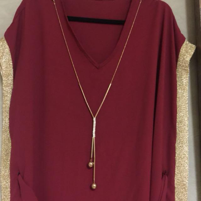 Arabic traditional maxi dress free size