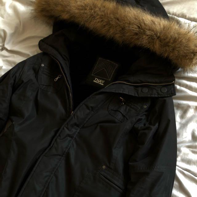 Aritzia Long Jacket