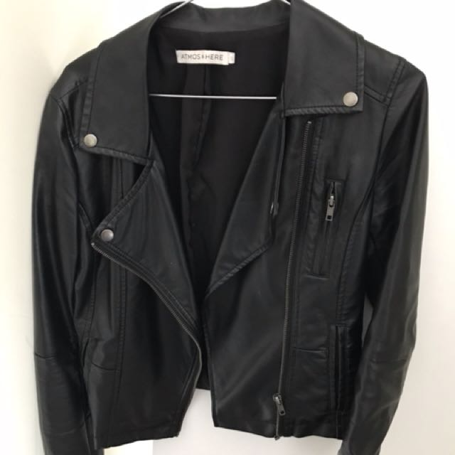 Atmos & Here - Leather Jacket
