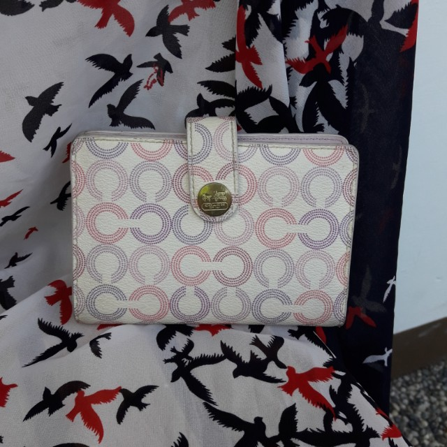 Repriced!! Authentic Coach Bi fold wallet
