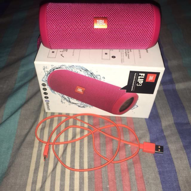 Authentic JBL Flip 3 Speaker