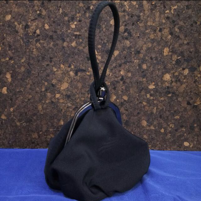 authentic ninewest black pouch