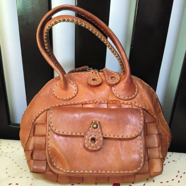 Authentic Robita Leather Bag (Japan)