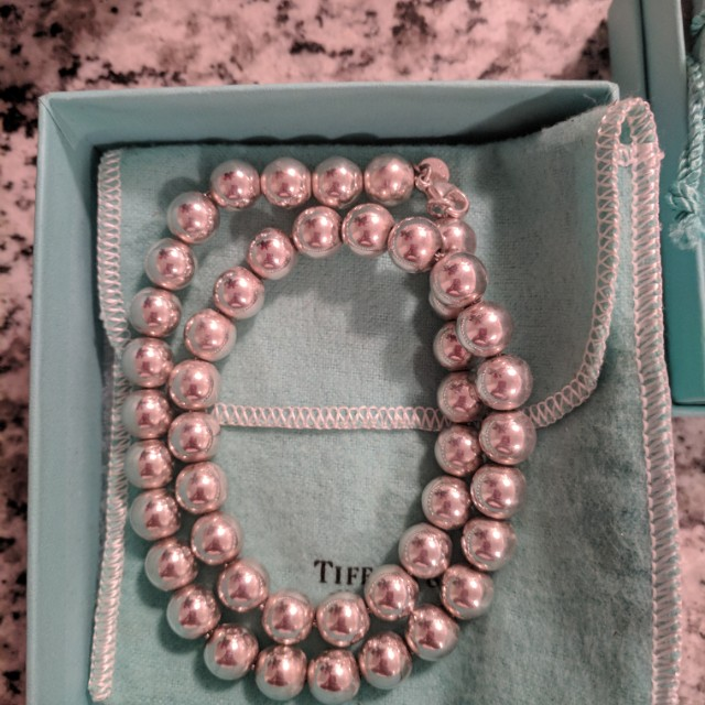 Authentic Tiffany & Co. Beads Necklace REDUCED PRICE