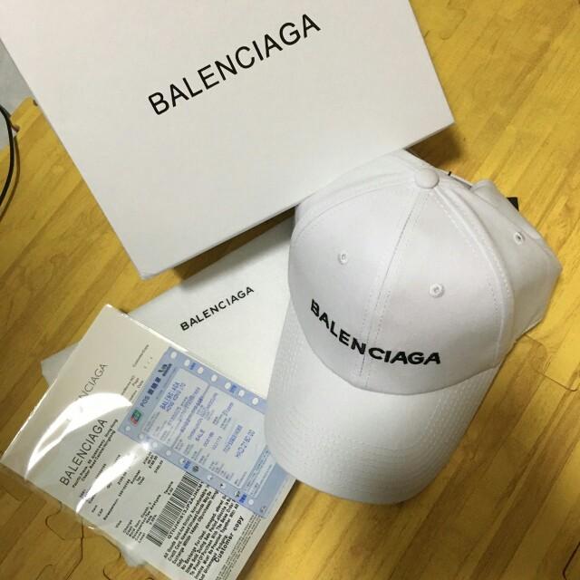Balenciaga巴黎世家基本款(白)老帽